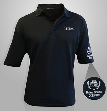INE CCIE Polo Shirt